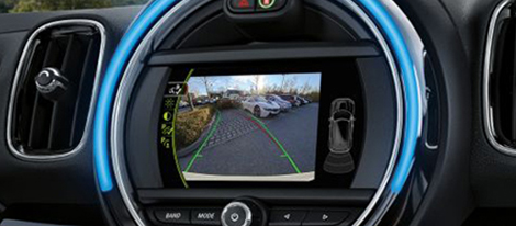 2019 MINI Plug-In Hybrid Rear-View Camera