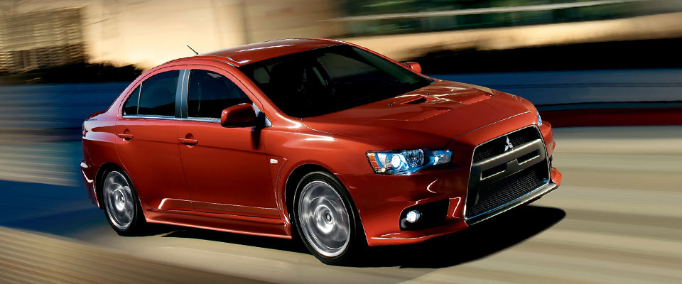 2013 Mitsubishi Lancer Evolution Appearance Main Img