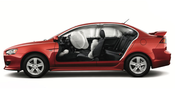 2014 MITSUBISHI Lancer safety