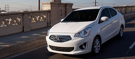 2017 Mitsubishi Mirage G4 safety