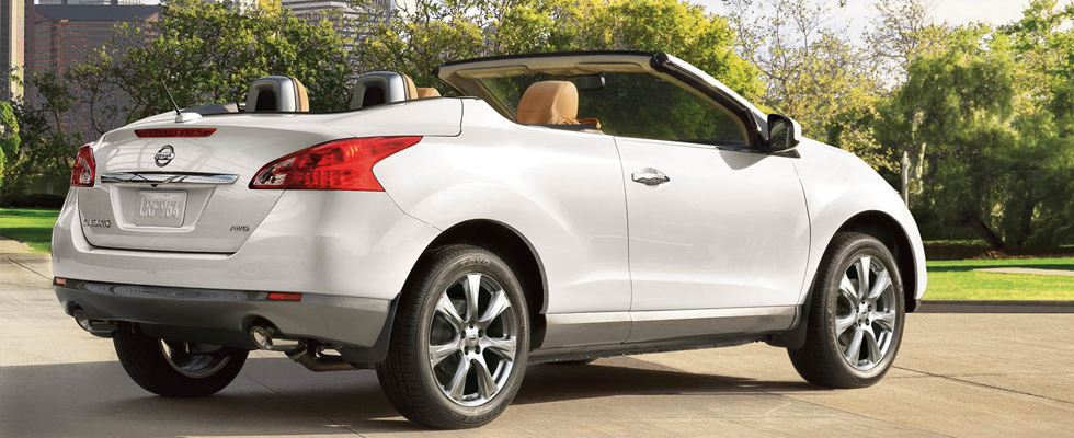 2014 Nissan Murano Crosscabriolet appearance