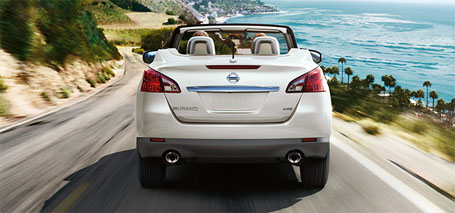 2014 Nissan Murano Crosscabriolet performance