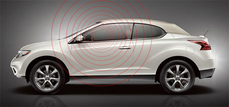 2014 Nissan Murano Crosscabriolet safety