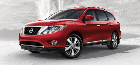 2014 Nissan Pathfinder Hybrid performance