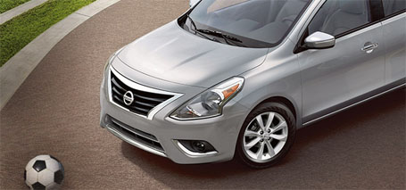 2015 Nissan Versa Sedan safety