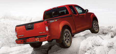 2016 Nissan Frontier safety