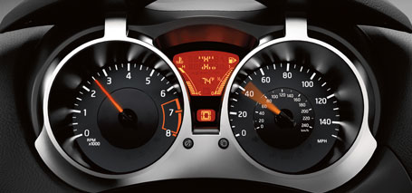 2016 Nissan Juke Gauges