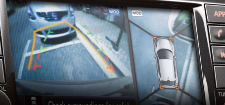 2016 Nissan Juke Around View Monitor