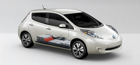 2016 Nissan Leaf lithium-ion battery