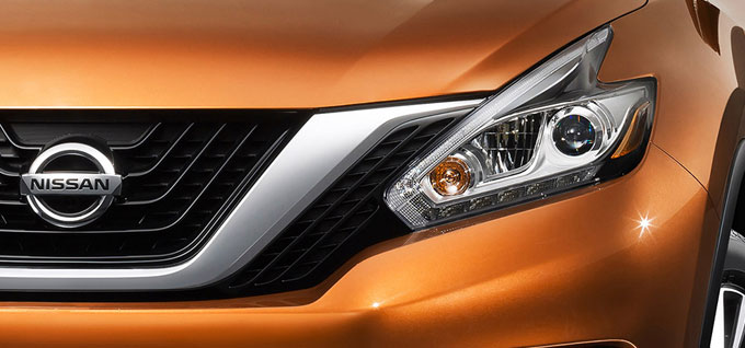 2016 Nissan Murano running lights
