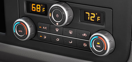 2016 Nissan NV Passenger Climate Control