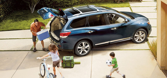 2016 Nissan Pathfinder Cargo Space