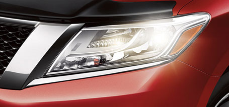 2016 Nissan Pathfinder Headlights