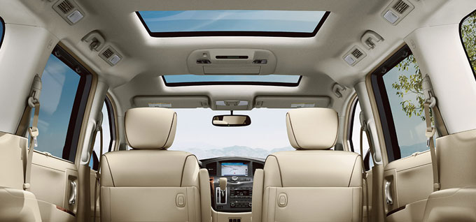 2016 Nissan Quest Moonroof