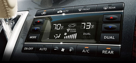 2016 Nissan Quest Temperature Control