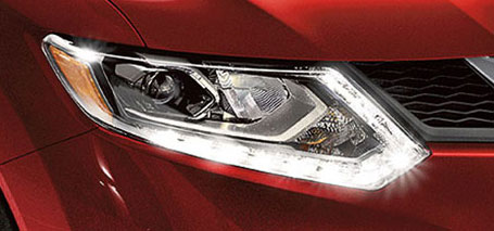 2016 Nissan Rogue LED Headlights