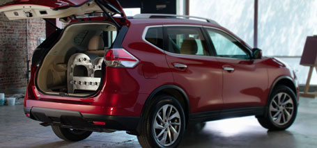 2016 Nissan Rogue Cargo Space