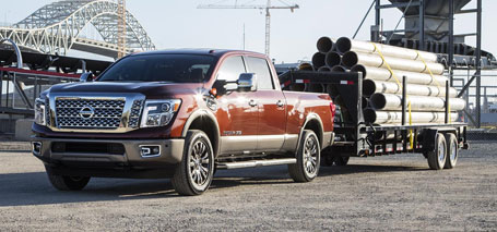 2016 Nissan Titan Towing Capacity