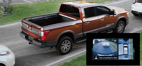 2016 Nissan Titan Around View Monitor