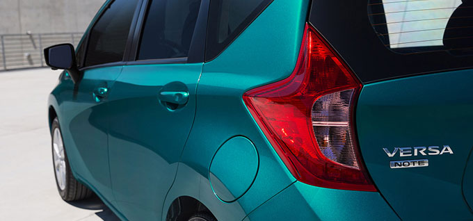 2016 Nissan Versa Note appearance