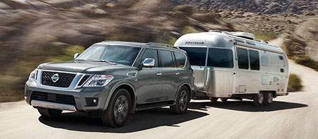 2017 Nissan Armada performance