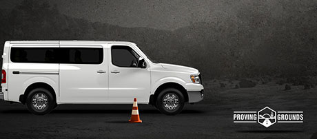 2017 Nissan NV Passenger safety