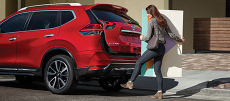2017 Nissan Rogue performance
