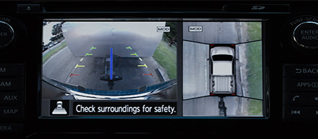 Rearview and Intelligent Around View® Monitors