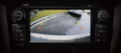 2018 Nissan Altima Rear View Monitor
