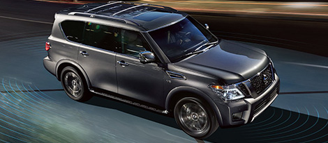 2018 Nissan Armada safety