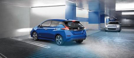 2018 Nissan Leaf Intelligent Around View