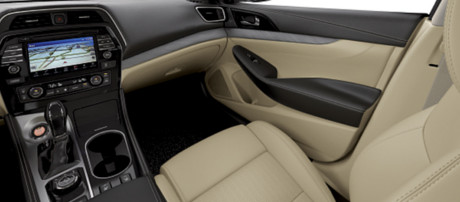 2018 Nissan Maxima Leather-Appointed Seats