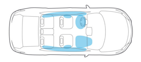 2018 Nissan Maxima Air Bag System