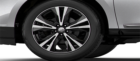 2018 Nissan Pathfinder 20 inch Wheels