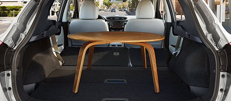 2018 Nissan Rogue Sport Cargo Space