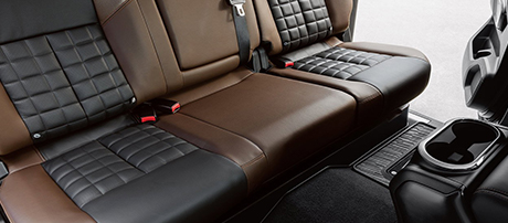 2018 Nissan Titan XD Rear Seating