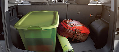 2018 Nissan Versa Note storage