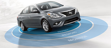 2018 Nissan Versa Sedan Anti-lock Brakes