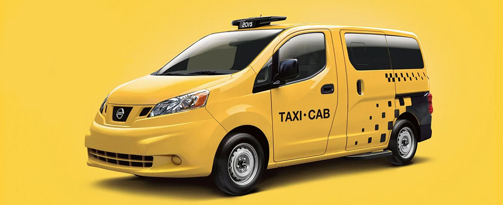 2019 Nissan NV200 Taxi appearance