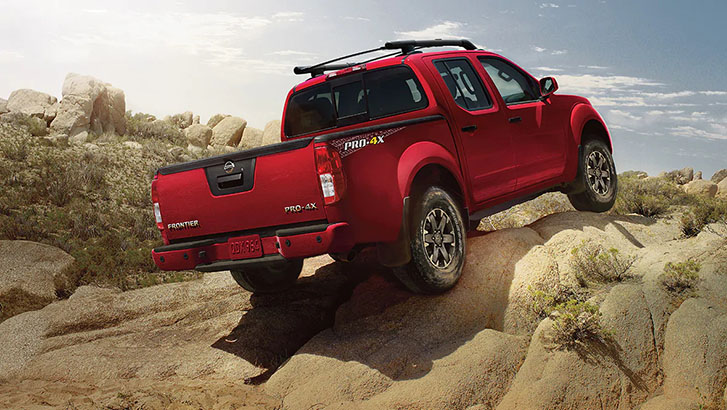 2020 Nissan Frontier appearance