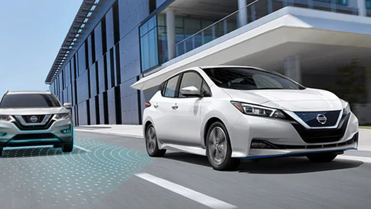 2020 Nissan Leaf safety