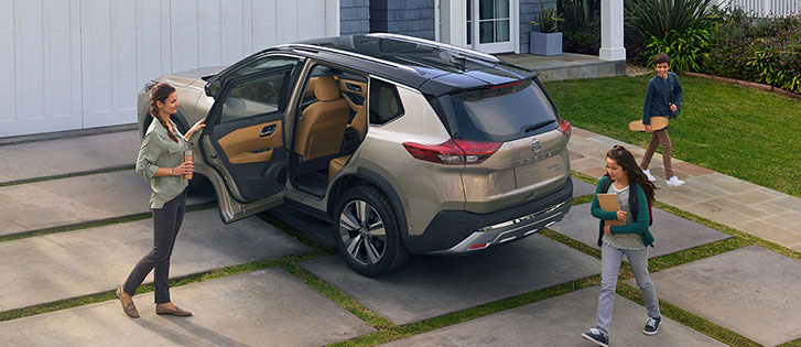 2021 Nissan Rogue safety