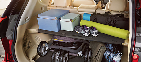 Nissan Divide and Hide Cargo System
