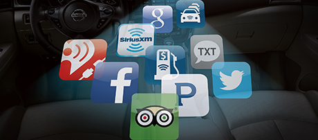 NissanConnect with Mobile Apps