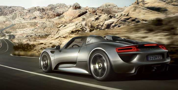 2015 Porsche 918 Spyder safety