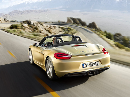 2015 Porsche Boxster performance