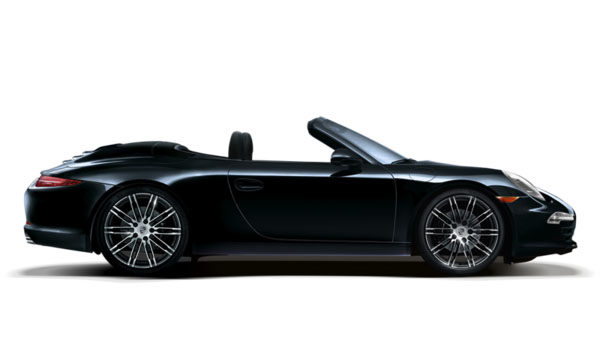 911 Carrera 4 Black Edition Cabriolet