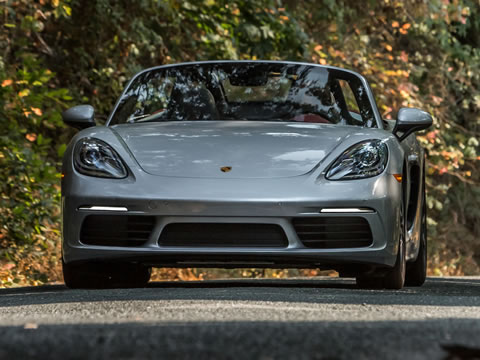 2017 Porsche 718 Boxster performance