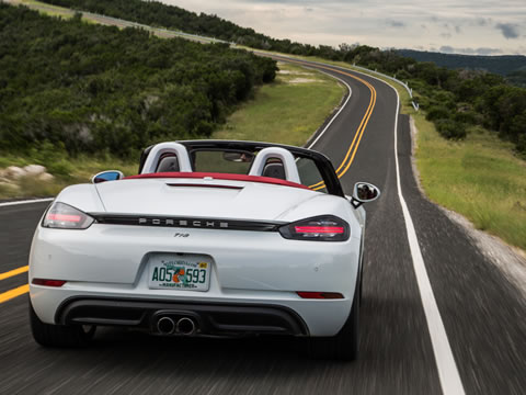 2017 Porsche 718 Boxster safety