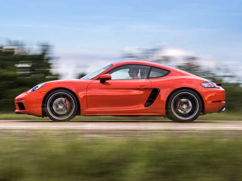 2017 Porsche 718 Cayman performance